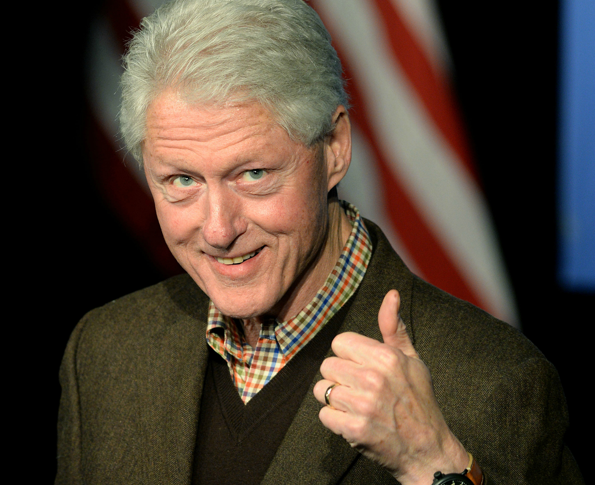 How Many Times Did Bill Clinton Ditch The Secret Service ...