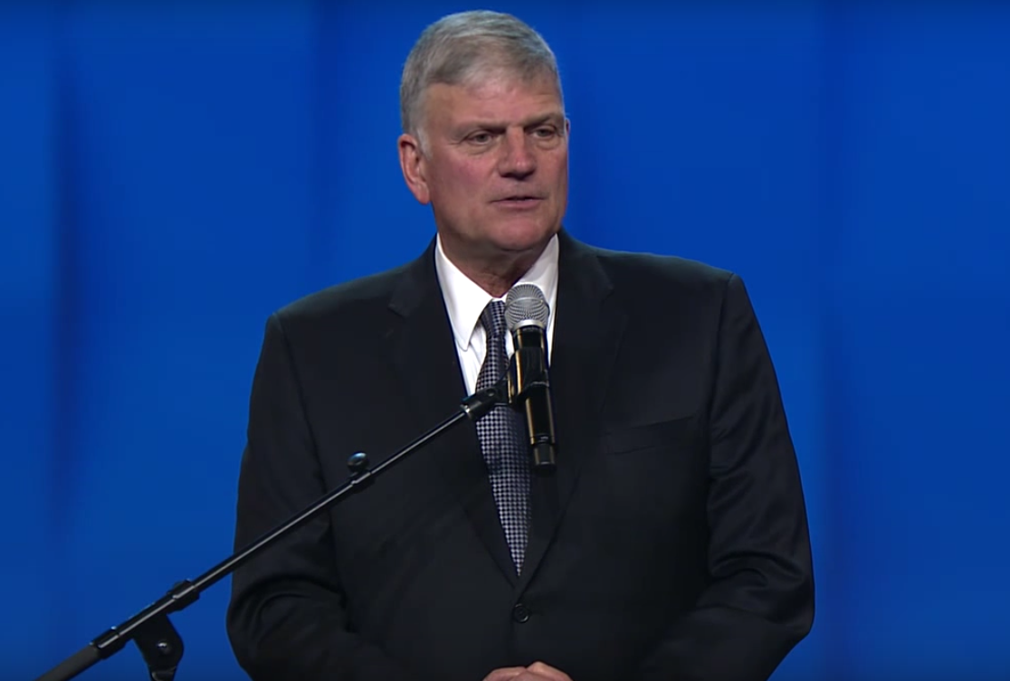 Is Franklin Graham Done For?